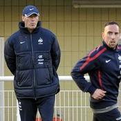 Laurent Blanc et Franck Ribéry