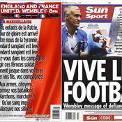 Revue de presse : l'Angleterre du foot est Bleu-Blanc-Rouge