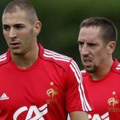 Karim Benzema-Franck Ribéry