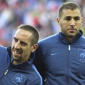 Ribéry et Benzema relaxés