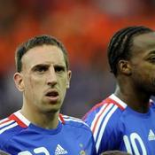 Franck Ribéry-Sidney Govou
