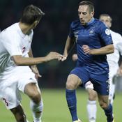 Franck Ribéry Biélorussie-France