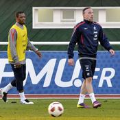 Franck Ribéry Patrice Evra Equipe de France