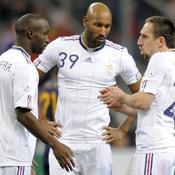 Lassana Diarra-Nicolas Anelka-Franck Ribéry
