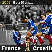 France Croatie Coupe du Monde 1998 Lilian Thuram