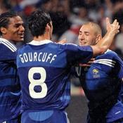 Malouda, Gourcuff et Benzema