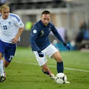 Finlande-France Franck Ribéry