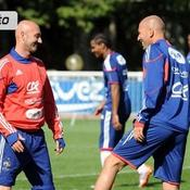 Zidane à Clairefontaine
