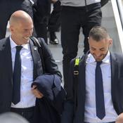 Zinédine Zidane et Karim Benzema