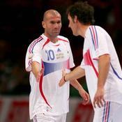 Zinedine Zidane-Laurent Blanc