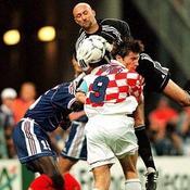 France 98 France-Croatie Fabien Barthez-Davor Suker