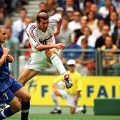 France 98 France-Italie Zinedine Zidane