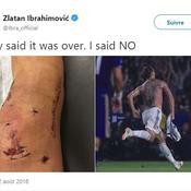Ibrahimovic charge ses détracteurs après son triplé