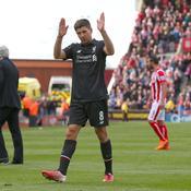 Son dernier match avec Liverpool