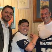 Le dernier du championnat argentin met son destin dans les mains de Maradona