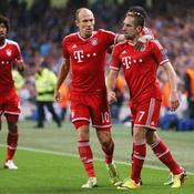 Franck Ribéry et Arjen Robben