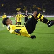 Aubameyang a encore frappé et Dortmund se rapproche de Leipzig