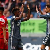 Coman frappe deux fois et replace le Bayern Munich en tête