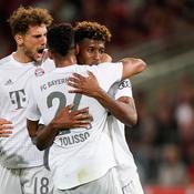 Coman marque, le Bayern se qualifie tranquillement