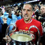 Franck Ribéry après la victoire du Bayern Munich en Ligue des Champions