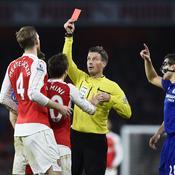 A 10 contre 11, Arsenal se fait piéger par Chelsea