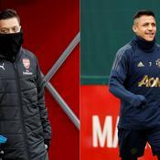 Arsenal-Manchester United: la chance des bannis Özil et Sanchez?