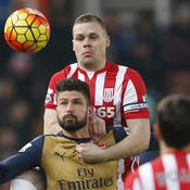 Arsenal tenu en échec à Stoke City