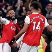 Arsenal démarre l'année en fanfare face à Manchester United