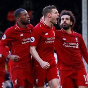 Liverpool s'est fait peur à Fulham mais reprend la tête de la Premier League