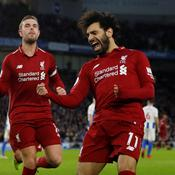 Liverpool maintient son train d'enfer