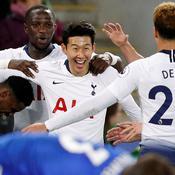 Vainqueur à Leicester, Tottenham tient à sa place sur le podium