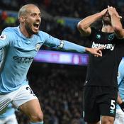 Bousculé par West Ham, Manchester City ne lâche rien