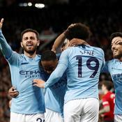 Vainqueur du derby mancunien, City se rapproche du titre