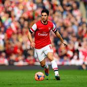 Mikel Arteta sous le maillot d'Arsenal