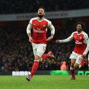 Un chef-d'œuvre de Giroud et Arsenal remonte sur le podium