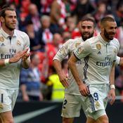A Bilbao, le Real Madrid conforte sa place de leader dans la douleur