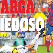 «Ancelotti le peureux»