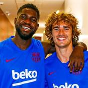 Barça: une photo de Griezmann et Umtiti amuse les fans de Stranger Things
