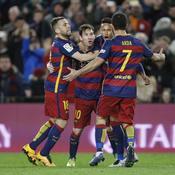Même en petite forme, le Barça est inarrêtable