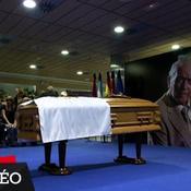 Dernier hommage à Alfredo Di Stefano au stade Santiago Bernabeu