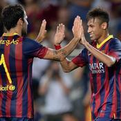 Fabregas et Neymar
