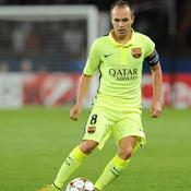 Andres Iniesta (Barcelone)