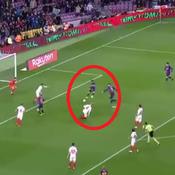 Le but «Playstation» du Barça contre Séville