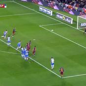 Le coup franc somptueux de Messi avec Barcelone
