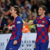 Griezmann s'offre un doublé et le Barça écrase le Betis
