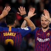 Avant Lyon, Barcelone assure l'essentiel en Liga