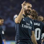Karim Benzema guide le Real Madrid à Vigo