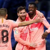 Lionel Messi-Ousmane Dembélé