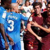 Le Barça poursuit son sans-faute dans la douleur, Dembélé blessé