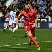Benzema ne suffit pas pour le Real, accroché par Leganes